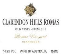 Clarendon Hills Grenache Romas
